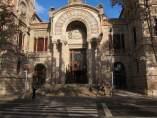 Fachada del Palau de Justícia de Barcelona