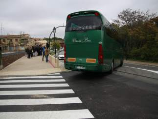 Semáforo de safont, remonte, autobús