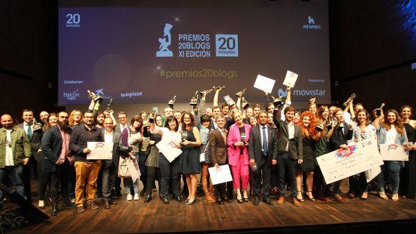 'Amigos Ingleses', el ganador de los XI Premios 20Blogs