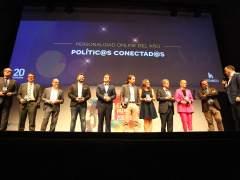 Nueve personalidad públicas, premiadas como 'Políticos Conectados'