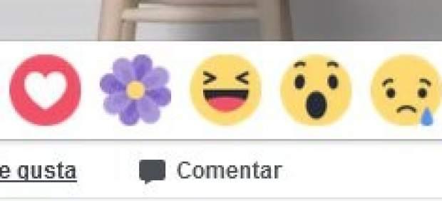 Reacción de Facebook