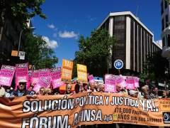 Manifestación Forum Filatélico y Afinsa