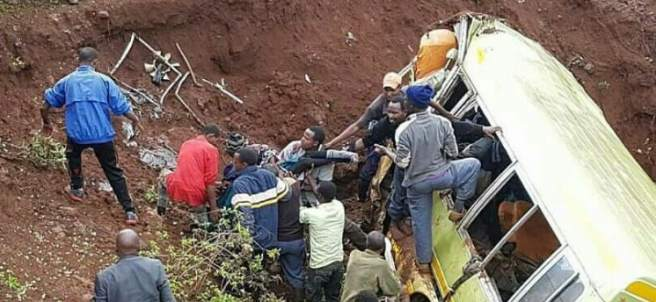 Accidente Tanzania
