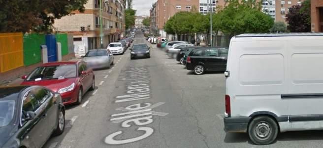 Calle María Cristina.