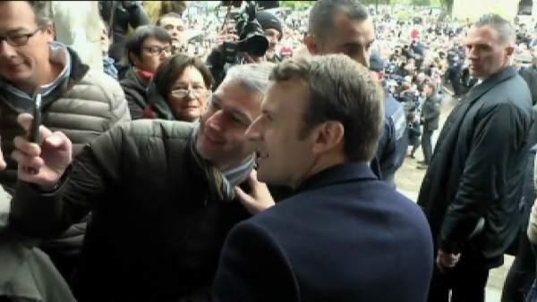 Macron gana las elecciones