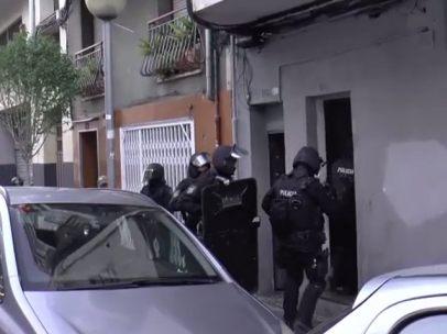 Operación antiyihadista en Badalona