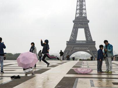 'Selfie' con la Torre Eiffel