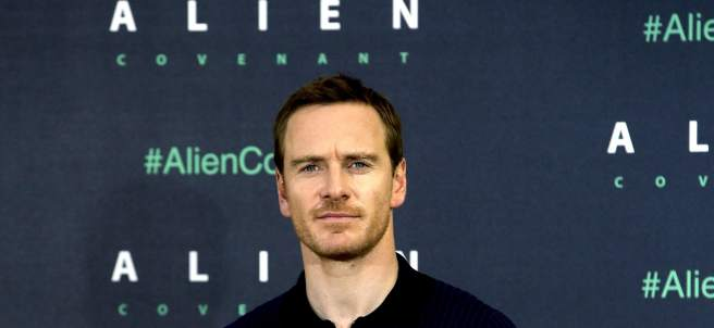 """Michael Fasbender en la presentación de  """"Alien: Covenant""""."""