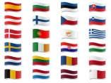 Banderas Unión Europea.