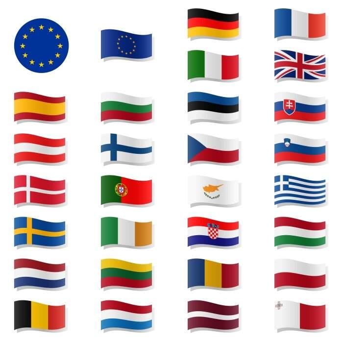 Da de Europa sabes identificar las banderas de estos pases