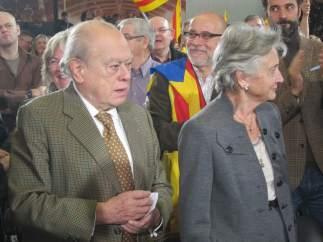 Jordi Pujol (CiU) y su esposa, Marta Ferrusola.