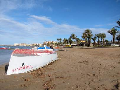 Playa De La Manga Del Mar Menor