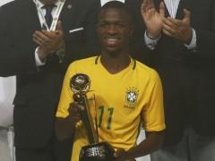El Madrid confirma el fichaje de Vinicius, prometedor jugador brasileño