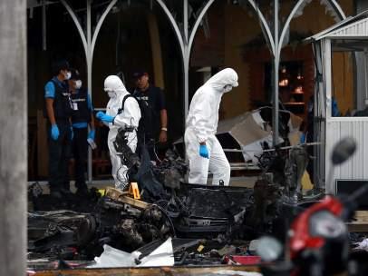 Estallan dos bombas en el sur de Tailandia