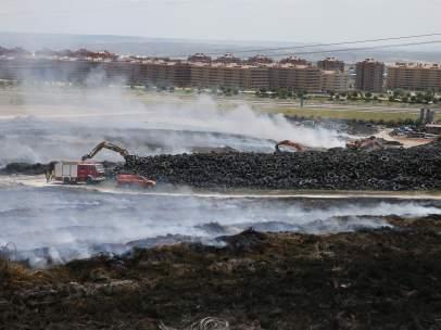 Incendio en Seseña