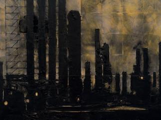 Donald Sultan, pintor de desastres