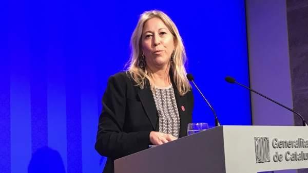 Neus Munté, consellera y portavoz de la Generalitat.