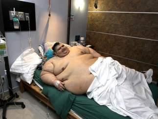 El hombre más obeso del mundo