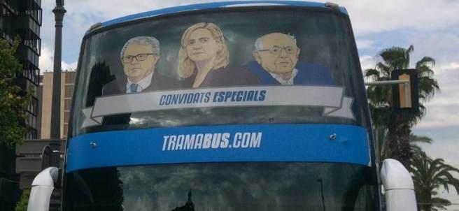 El 'Tramabús' de Podemos en Barcelona