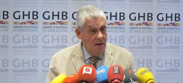 Jordi Clos, presidente del Gremio de Hoteles de Barcelona.