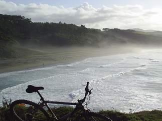 Playa de Frejulfe, Navia (Asturias)