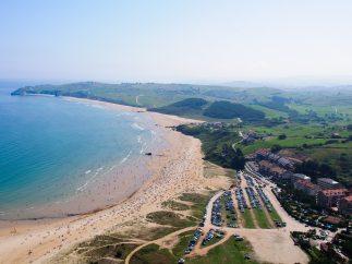 Playa El Sable de Merón, San Vicente de la Barquera (Cantabria)