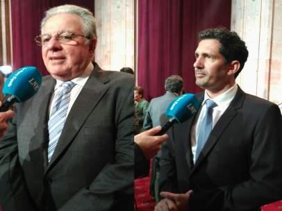 Alerto Edgardo Barbieri y César Bona.