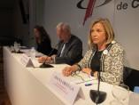 Joana Ortega, García-Margallo y Neus Tomàs.