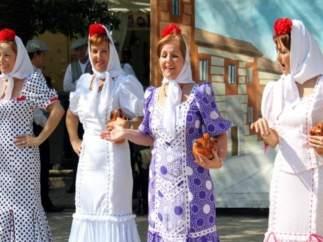 Imagen de chulapas para celebrar San Isidro