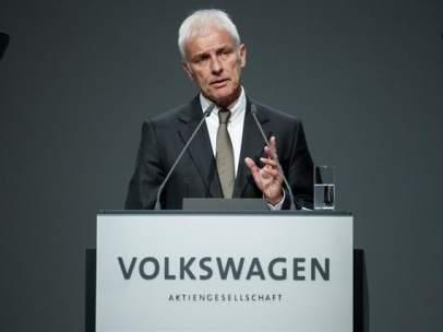 Matthias Müller, presidente de Volkswagen