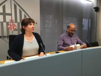 Laia Ortiz y Miquel Àngel Essomba