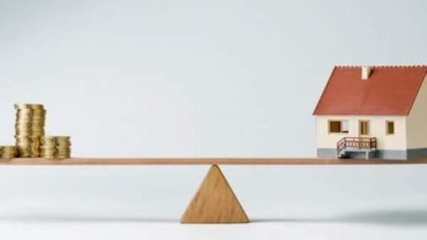 El coste de comprar o alquilar vivienda