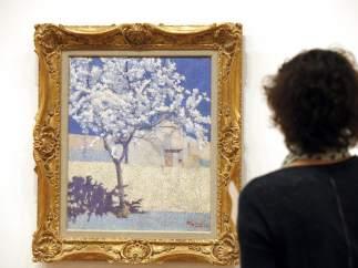 'Árbol en flor', de Achille Laugé en la exposición 'París, fin de siglo. Signac, Redon, Toulouse-Lautrec y sus contemporáneos'