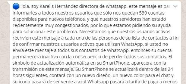 Message Karelis Hernandez