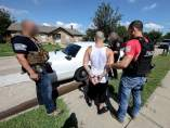 Pandilleros detenidos en EE UU