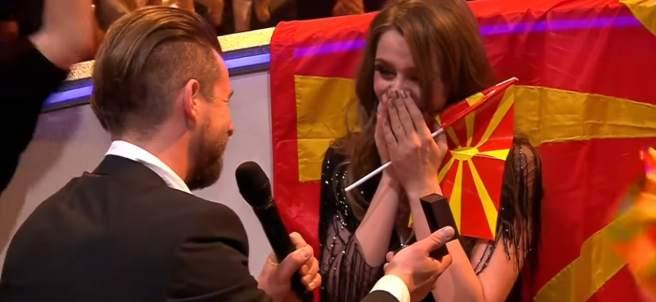 Jana Burčeska en Eurovisión