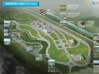 La ciudad artificial para coches autónomos