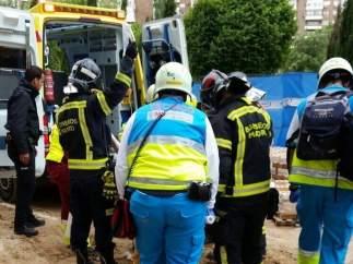Accidente laboral en Sanchinarro