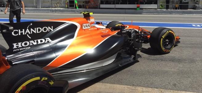 Fernando Alonso (McLaren) en Montmeló