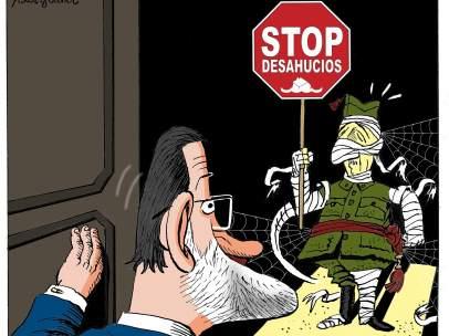 El desahucio de Franco