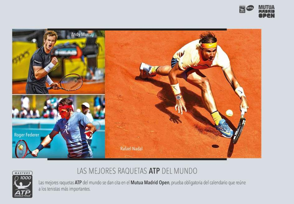Facua denuncia machismo en el folleto del Madrid Open