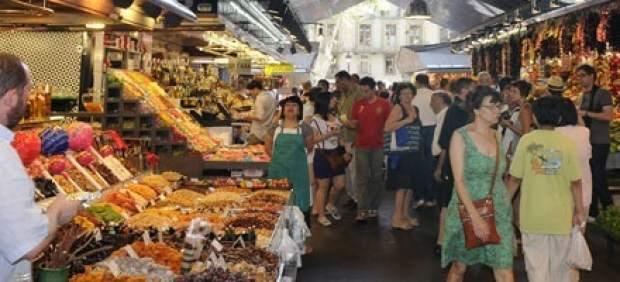 Mercado de la Boqueria de Barcelona.