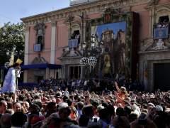 Traslado de la Virgen en València