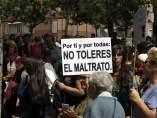 Protesta contra la violencia machista