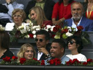 Ronaldo, Carmena, Cifuentes y Paz Vega