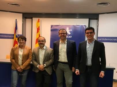 El portavoz del PDeCAT el Congreso, Carles Campuzano