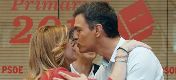 El beso de Sánchez y Díaz