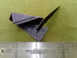La Guardia Civil de Lugo intervenie una navaja oculta en forma de tarjeta.