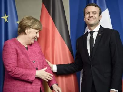Macron y Merkel