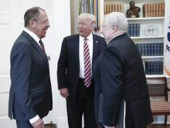 Donald Trump y Serguéi Lavrov